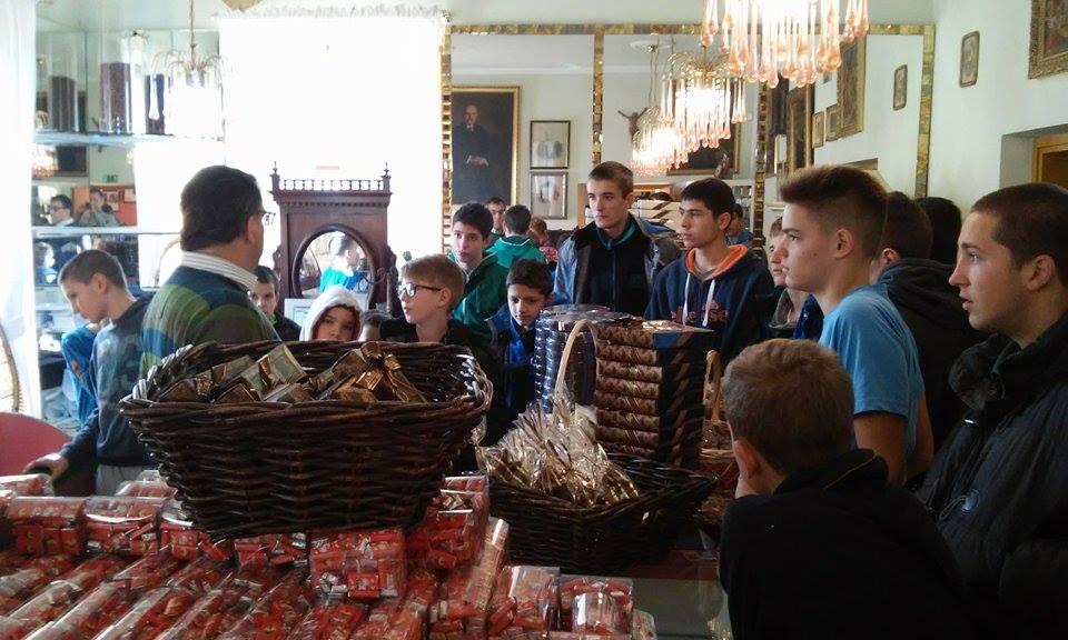 U fabrici čokolade