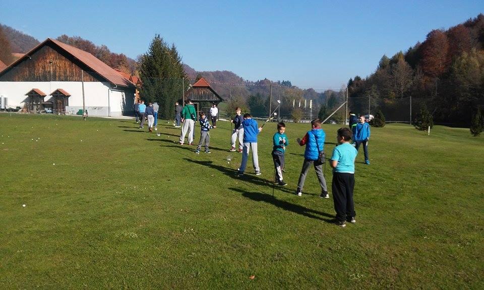 U školi golfa
